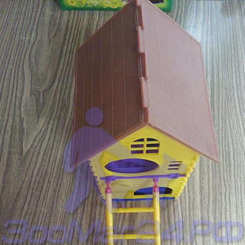 Домик 2-х этажный для грызунов Бриллиант