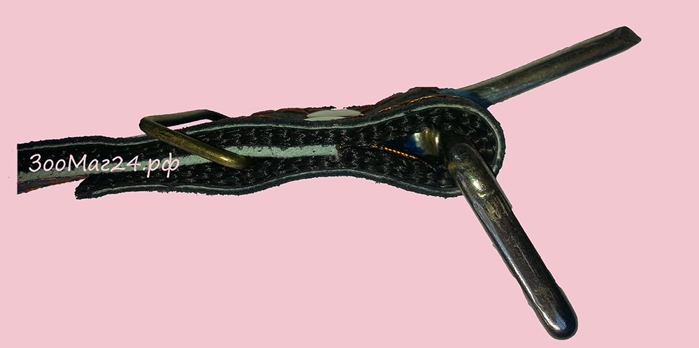 усиленная пряжка на ошейнике